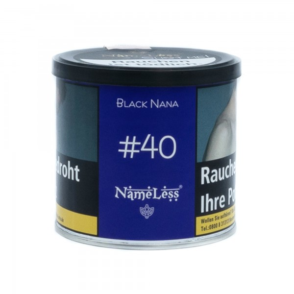 Nameless - Black Nana (40) - 200 Gramm