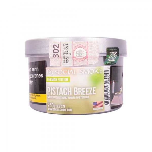 Social Smoke - Pistach Breeze - 250 Gramm
