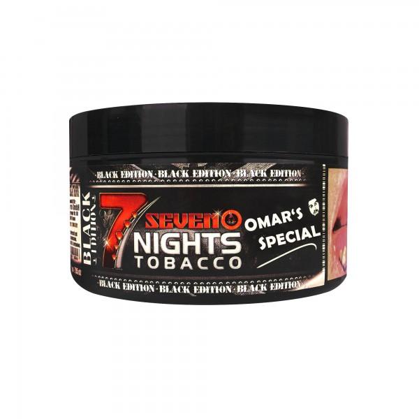 7Nights Black - Omar's Special - 200 Gramm