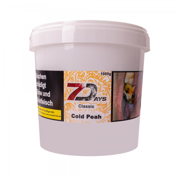 7Days Classic - Cold Peah - 1000 Gramm