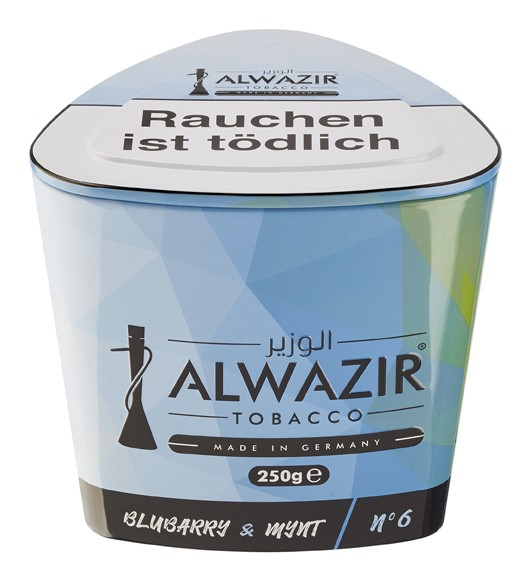 Al Wazir - Blubarry & Mynt (06) - 250 Gramm